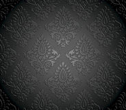 Luxurious seamless vector wallpaper Royalty Free Stock Photography