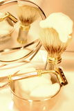 Luxurious shaving set Royalty Free Stock Images