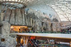 Luxurious Shopping Mall Interior Stock Photography