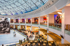 Luxurious Shopping Mall Interior Royalty Free Stock Images