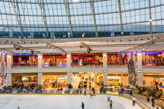 Luxurious Shopping Mall Interior Stock Photos