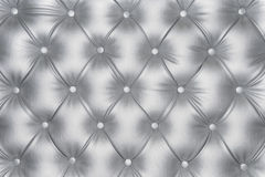 Luxurious silver leather texture Royalty Free Stock Image