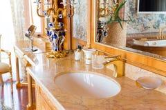 Luxurious sink Royalty Free Stock Photo