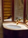 Luxurious sink Stock Image