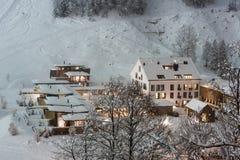 Luxurious ski resort Royalty Free Stock Image