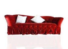 Luxurious sofa isolated on background Stock Images