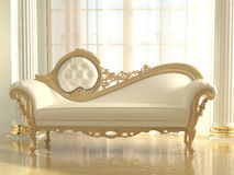 Luxurious sofa in modern interior Stock Photography