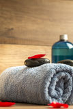 Luxurious spa arrangement Royalty Free Stock Image