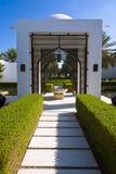 Luxurious spa garden Royalty Free Stock Image
