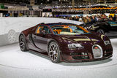 Luxurious sports car Stock Image