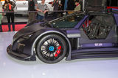 Luxurious sports car Royalty Free Stock Photos