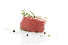 Luxurious steak. Royalty Free Stock Images
