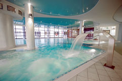 Luxurious swimming pool Stock Photo