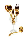 Luxurious table set Royalty Free Stock Photography