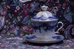 Luxurious tea cup Stock Photos