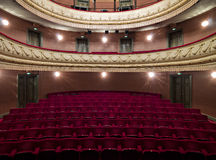 Luxurious theater hall Royalty Free Stock Image