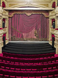 Luxurious theater hall Stock Images