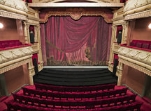 Luxurious theater hall Royalty Free Stock Photos