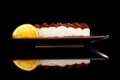 Luxurious tiramissu dessert. Royalty Free Stock Image
