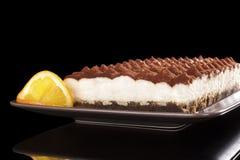 Luxurious tiramisu dessert Stock Images