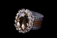 Luxurious Tissue Holder. A luxurious tissue holder studdent with precious and semiprecious gemstones Royalty Free Stock Photos