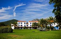 Luxurious villa in tropics Stock Photo