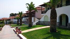 Luxurious villas resort Royalty Free Stock Photo