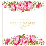 Luxurious vintage frame. Stock Images