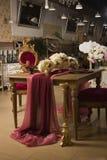 Luxurious vintage interior. The Luxurious vintage interior. A Elegance apartment Royalty Free Stock Photo
