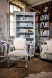 Luxurious interior. Luxurious vintage interior of sitting-room stock image
