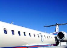Luxurious VIP airplane Royalty Free Stock Photos