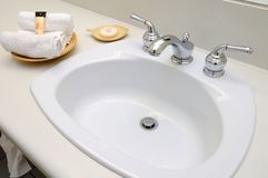 Luxurious wash area Stock Photography