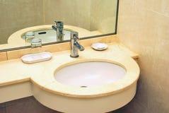 Luxurious wash basin Royalty Free Stock Images