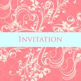 Luxurious wedding invitation soft Royalty Free Stock Image