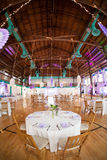 Luxurious wedding reception Stock Photography