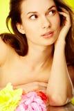 Luxurious woman stock photos
