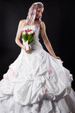 Luxurious woman in wedding dress Stock Photography