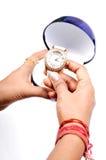 Luxurious wrist watch Stock Photo