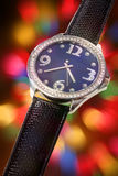 Luxurious wristwatch Royalty Free Stock Images