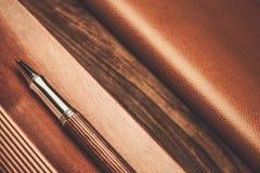 Luxurious writing tools Royalty Free Stock Photos