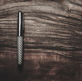 Luxurious writing tools Royalty Free Stock Photo