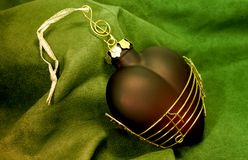 Luxurious Xmas decoration Royalty Free Stock Images