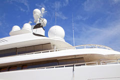 Luxurious yacht Stock Photo
