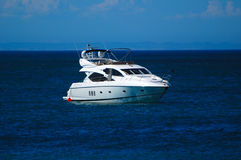 Luxurious yacht Royalty Free Stock Photo