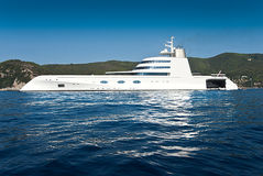 Luxurious Yacht Royalty Free Stock Image
