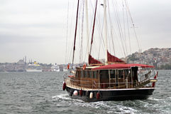Luxurious Yacht Stock Photography