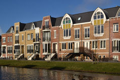 luxuriously moderna lägenheter Royaltyfri Bild