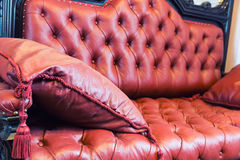 Luxuroius-Sofa stockfotografie
