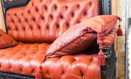 Luxuroius-Sofa stockfoto