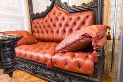 Luxuroius sofa Stock Images